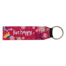 Live Happy Keychain
