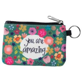 You Are Amazing ID Wallet Keychain