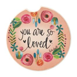 You Are Loved Car Coaster