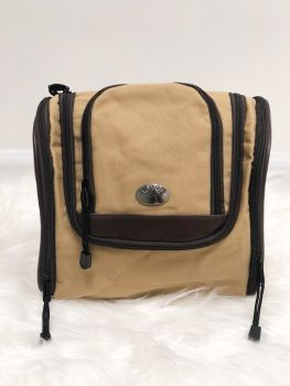 Palmetto Canvas Hanging Travel Bag