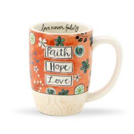 Faith Hope Love Gift Mug