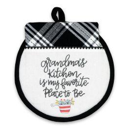 Grandma's Kitchen Hot Pad & Tea Towel