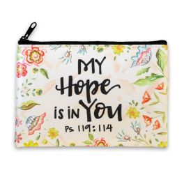 My Hope Zippered Coin Purse