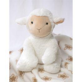 Lamb Stuffed Animal with Blanket