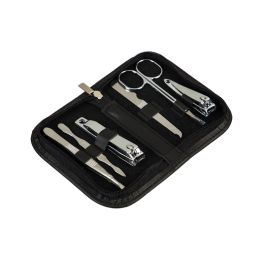 Travel Manicure Set - Black