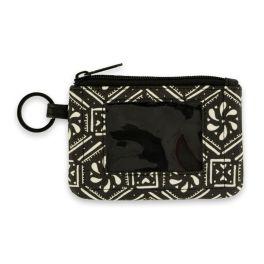 Boho Geometric ID Wallet Keychain