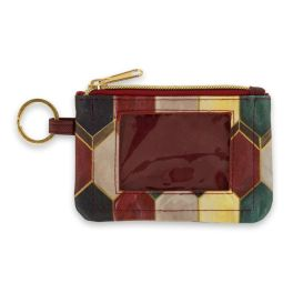 Jewel Tone ID Wallet Keychain