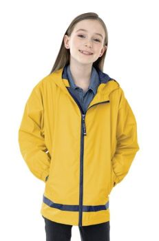 Yellow New Englander Rain Jacket - Youth