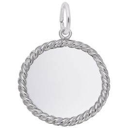 Rope Disc Charm - Rembrandt
