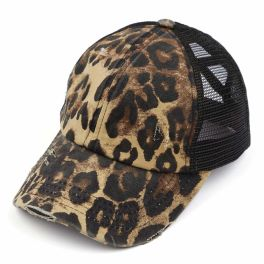 CC Pony Hat - Leopard