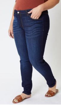 This Time Around Plus Super Skinny Jean - Dark Wash