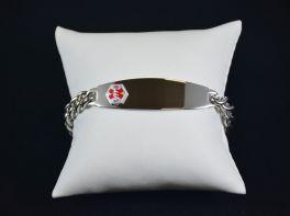 Men's Link Medical Alert Bracelet