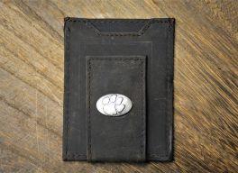 Brown Front Pocket Clemson Wallet