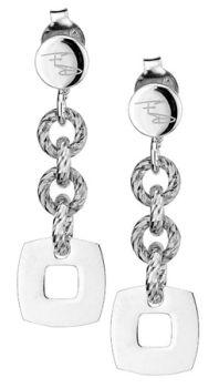 Glimmer & Square Earrings