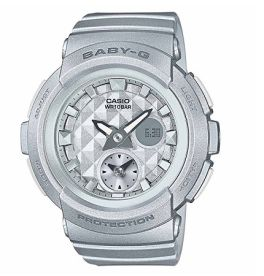 Casio Baby-G Silver Women's G-Shock Watch