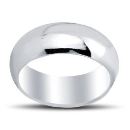 Sterling Silver 8mm Band