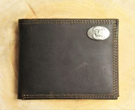 USC Brown Leather Wallet