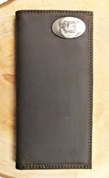 USC Brown Leather Roper Wallet