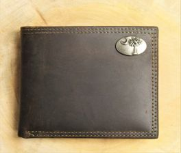 Palmetto Brown Leather Wallet