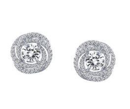 Lafonn Circle Knot Earrings
