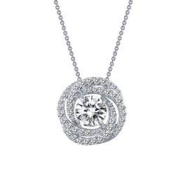 Lafonn Circle Knot Necklace