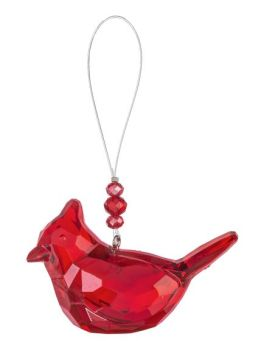 Cardinal Of Comfort Acrylic Decorative Ornament