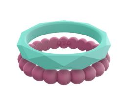 Women's Collection E Stackable Silicone Qalo Rings