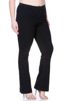 It's A Revolution Plus Flare Jeans - Black