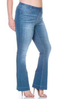 It's A Revolution Plus Flare Jeans - Medium Wash