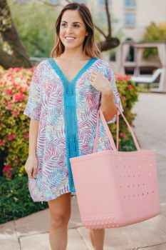 Simply Southern Palm Beach Cover-Up - Blue