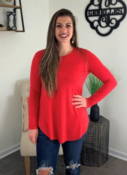 Forever Favorite Tunic - Red