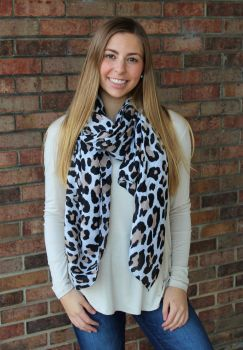 Get A Little Wild Scarf - Ivory