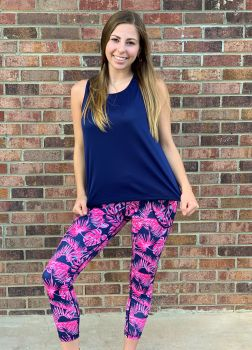 Simply Southern Yoga Legging - Paradise