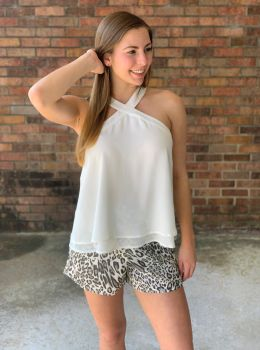 Charmingly Confident Top - Off White