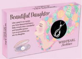 Wish Pearl Necklace - Beautiful Daughter