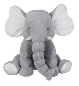 Jumbo Jellybean Elephant - Gray