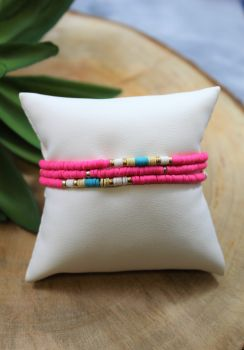 Go With You Bracelet - Pink