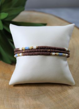 Go With You Bracelet - Brown
