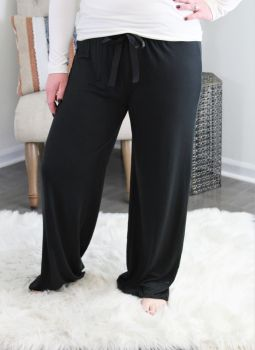 Simply Southern Lounge Pants - Black