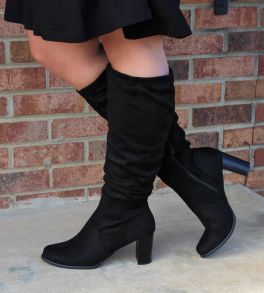 Great Strides Tall Boot - Black