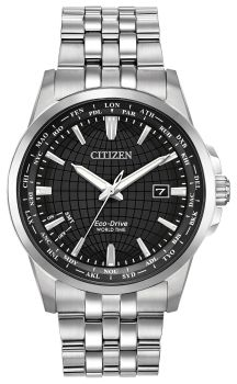 Men's World Time Eco-Drive Citizens Watch