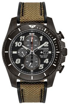 Mens Promaster Tough Citizen Eco-Drive Watch