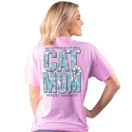 Simply Southern Cat Mom T-Shirt