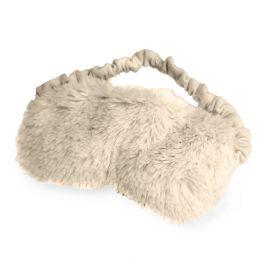 Warmies Plush Eye Mask - Cream