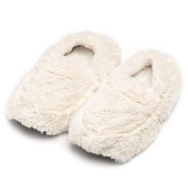 Cream Warmies Slippers