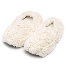Cream Warmies Slippers