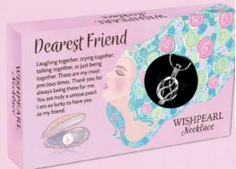 Wish Pearl Necklace - Dearest Friend