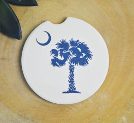 Palmetto Moon Car Coaster