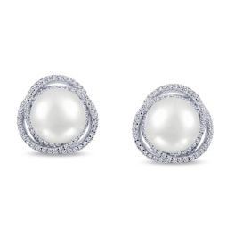 Lafonn Pearl Earrings