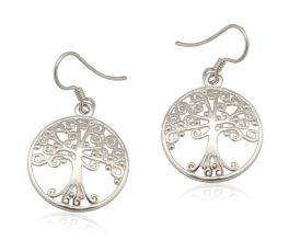 Southern Gates Oak Earrings